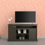 MESA TV/LCD/LED 56″ 2 PUERTAS Art. 1025-WH