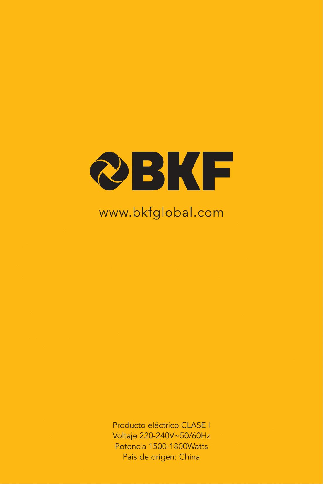 Pava Eléctrica BKF