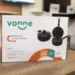 Bateria de Cocina de 3 piezas Vonne TEFLON ANTIADHERENTE