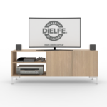 RACK DE TV OSLO  1.30mts Art. ROS130-RN