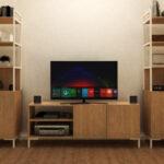 RACK DE TV OSLO  1,30m Art. ROS130-RN