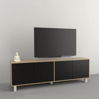 Mesa TV Hasta 75 4 Puertas  Art. 4101-CON